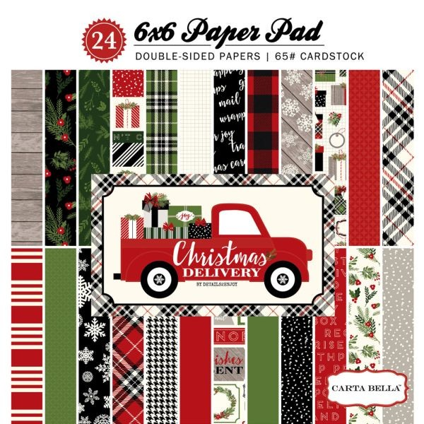 Carta Bella Christmas Delivery Collection Kit 6x6