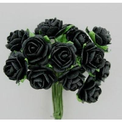 Roses Black 1,5 cm