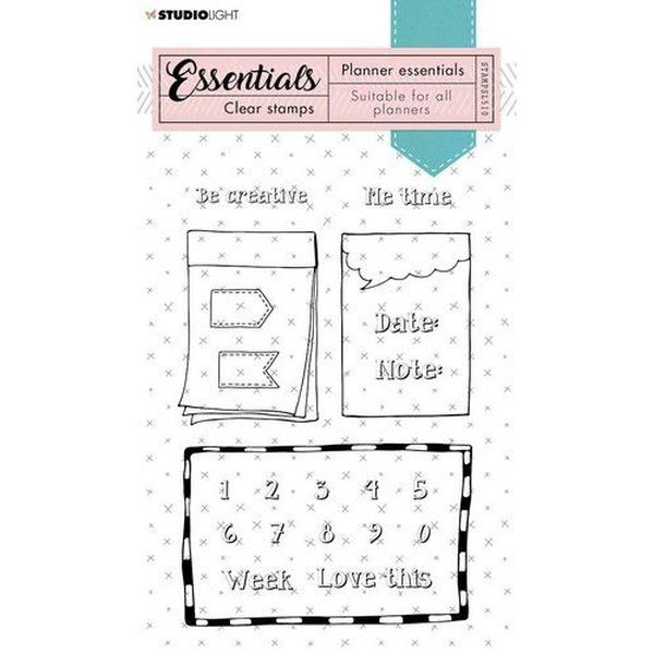 Studio Light Clearstamps Planner Essentials No. 510