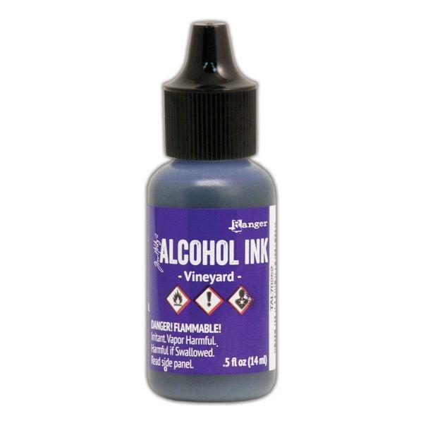 Tim Holtz Alcohol Ink Vineyard
