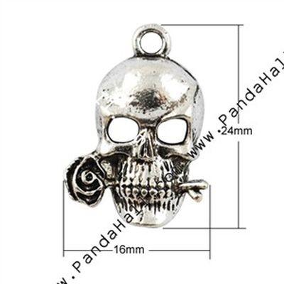 Metal Charms Skull