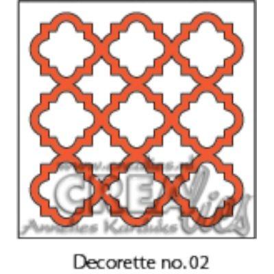 CreaLies Decorette No. 02 Diamond Ornament