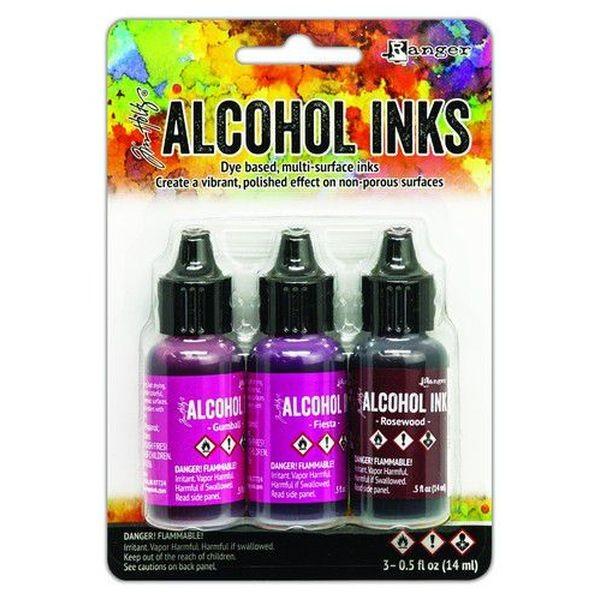 Tim Holtz Alcohol Ink Kit Pink-Red Spectrum