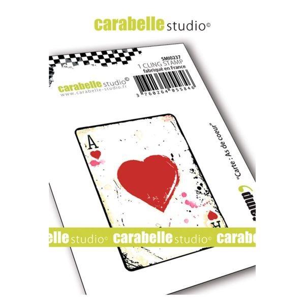 Carabelle Studio Tampon Art Stamp Mini Stamp Carte as de Coeur