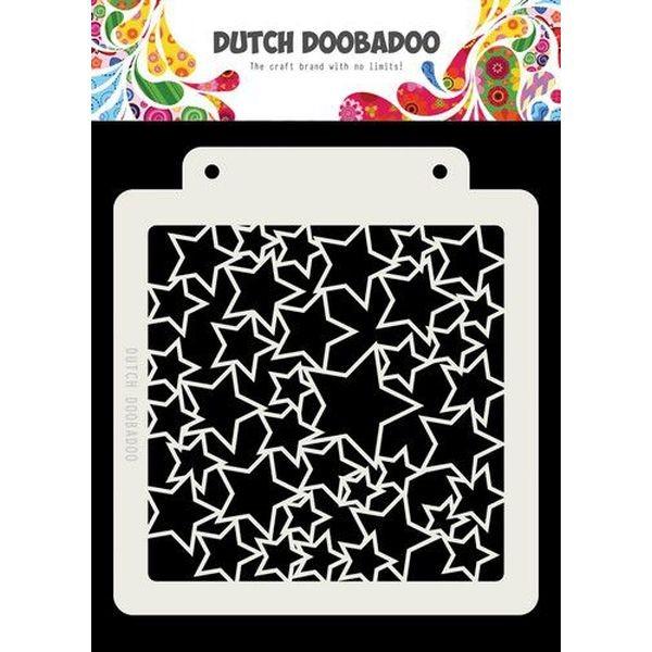 Dutch Doobadoo Mask Stencil 6x6 Art Stars