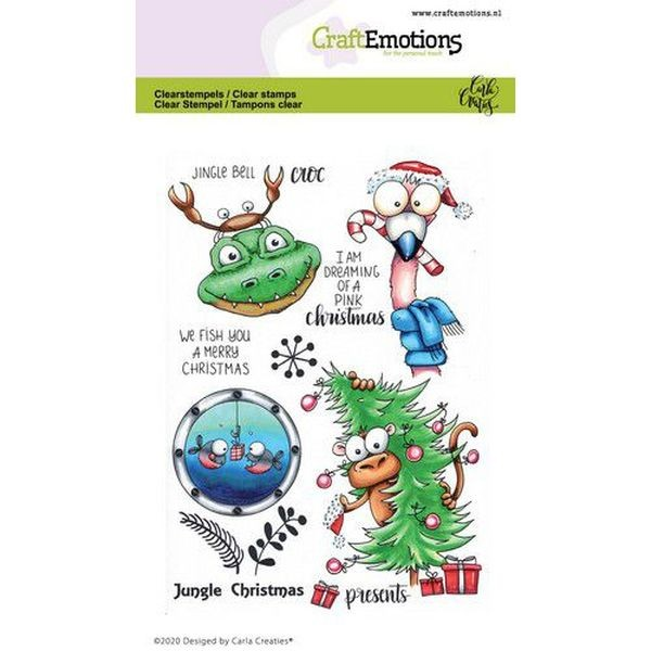 Craft Emotions Clearstamps Jungle Christmas