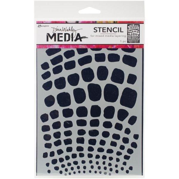 Dina Wakley Media Stencil Scales