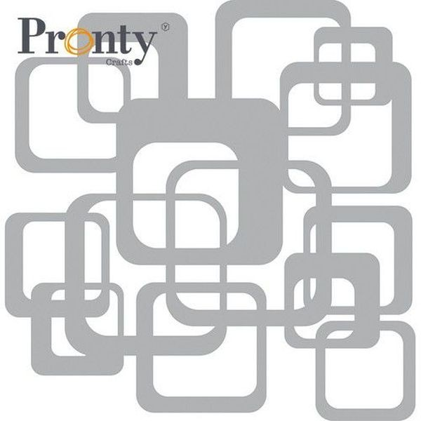 Pronty Mask Stencil 15x15 Retro Pattern Squares