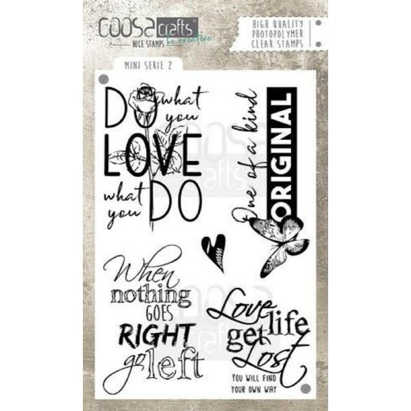 Coosa Crafts Clearstamps A6 Mini Serie No. 2