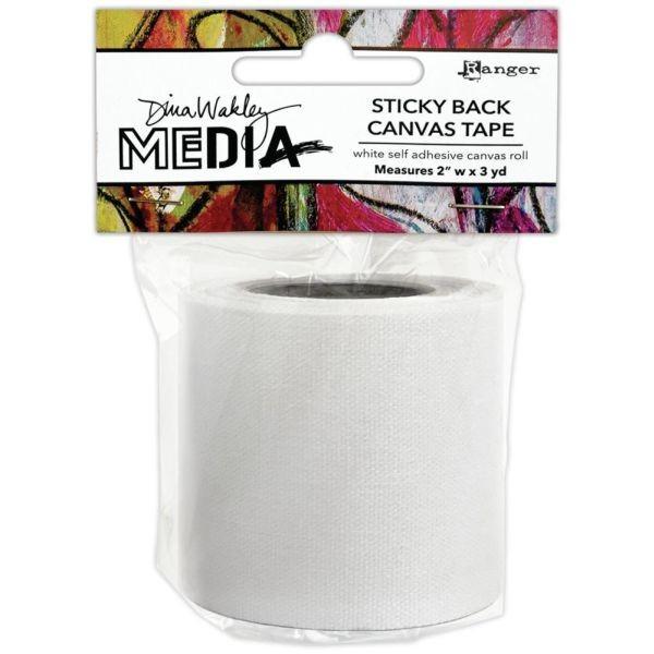 """Dina Wakley Media Sticky Back Canvas Tape 2"""""""