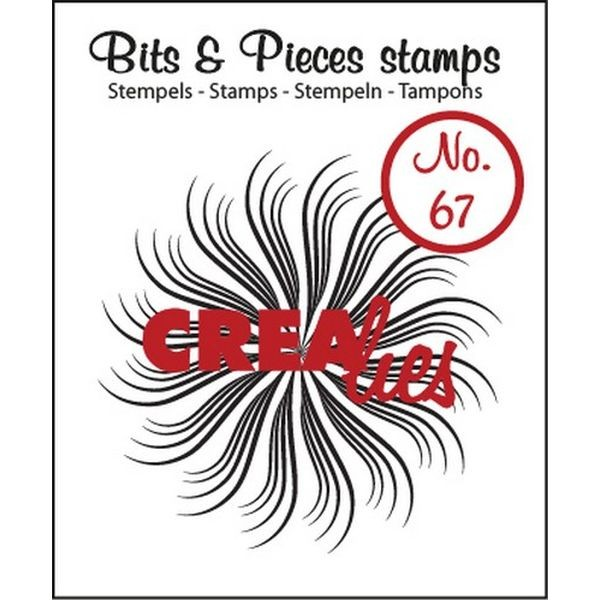 CreaLies Bits & Pieces Clearstamps No. 67