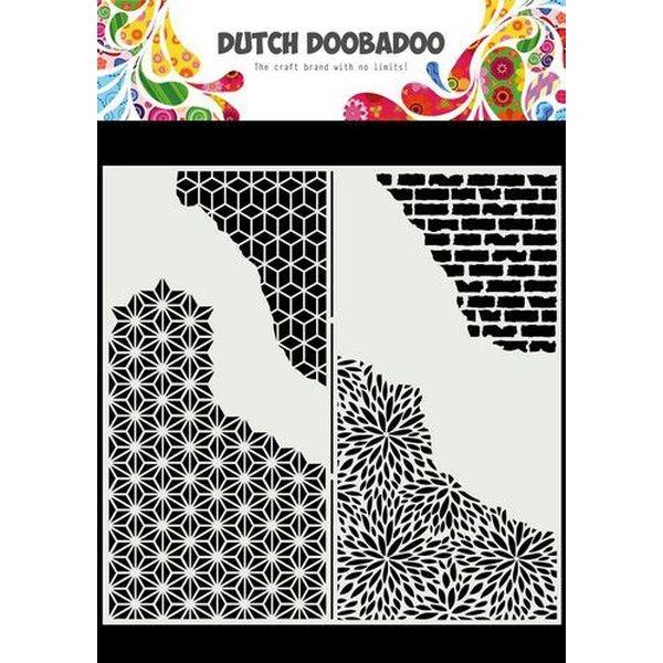 Dutch Doobadoo Mask Art Slimline Cracket Patterns