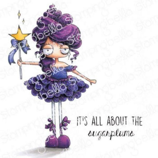 Stamping Bella Clingstamps Oddball Sugar Plum Fairy