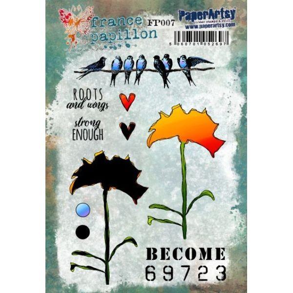 Paper Artsy France Papillon 007