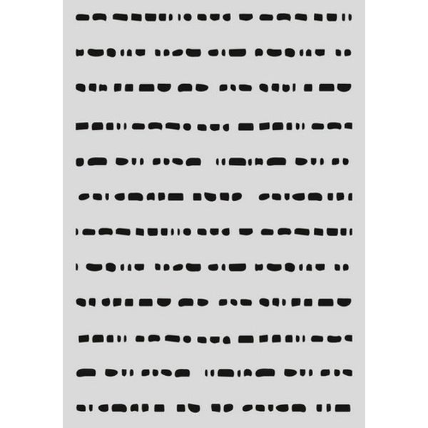 Pronty Mask Stencil A5 Doodle Dots