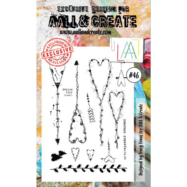 AALL & Create Clearstamps A6 No. 46
