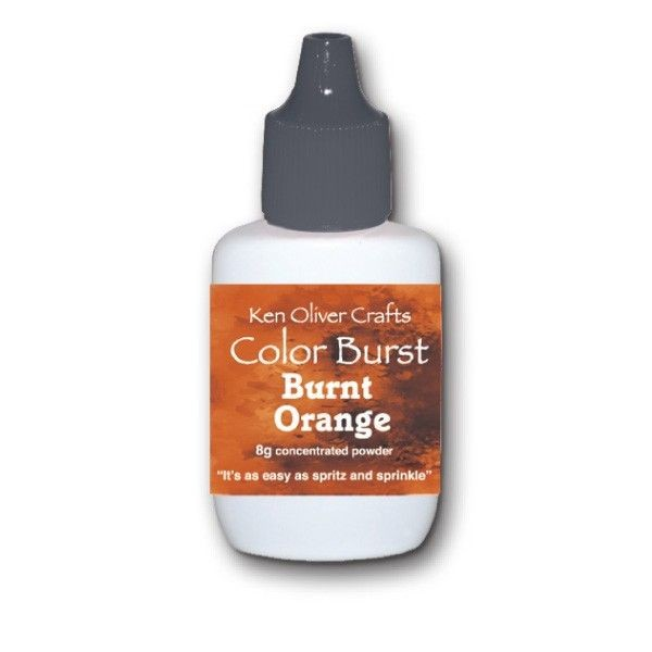 Ken Oliver Crafts Color Burst Burnt Orange