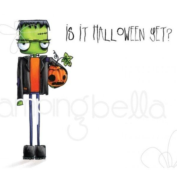 Stamping Bella Clingstamps Oddball Frankenstein