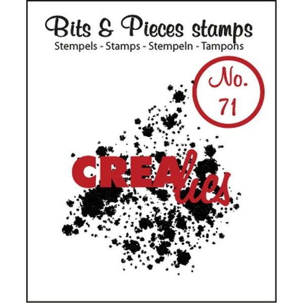 CreaLies Bits & Pieces Clearstamps No. 71