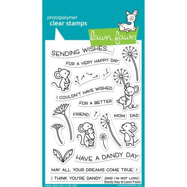 Lawn Fawn Bundle Clearstamps & Dies Dandy Day