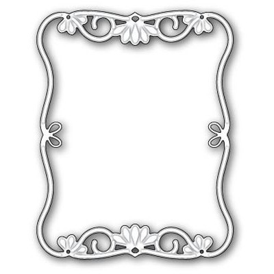 Memory Box Die Small Felicity Frame