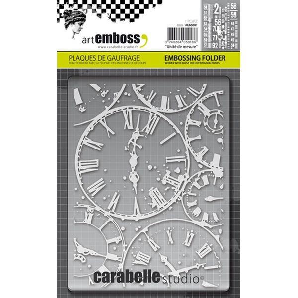 Carabelle Studio Embossingfolder Horloges