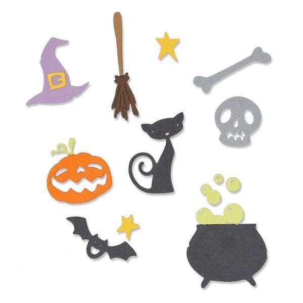 Sizzix Thinlits Die Halloween Set