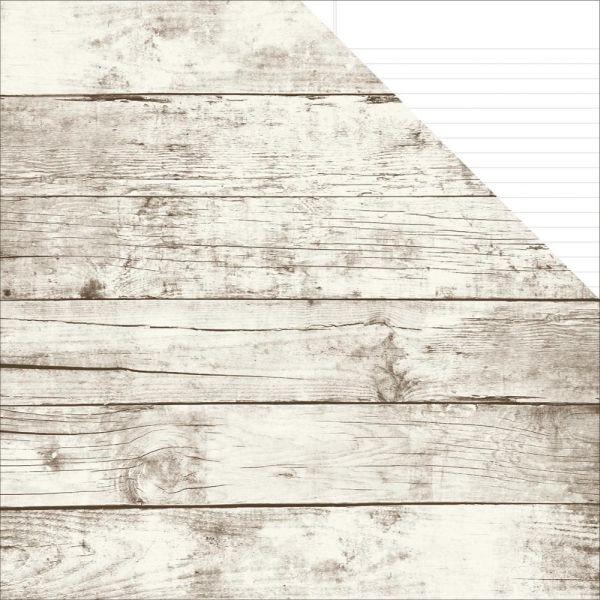 Simple Stories Sn@p! Basics Color Vibe Cardstock Aspen/White Notebook