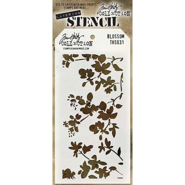Tim Holtz Layering Stencils 031 Blossom