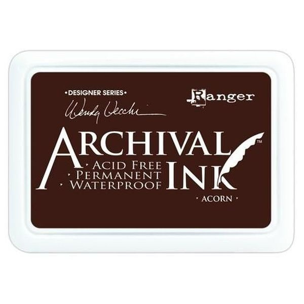 Ranger Archival by Wendy Vecchi Ink Pad Acorn