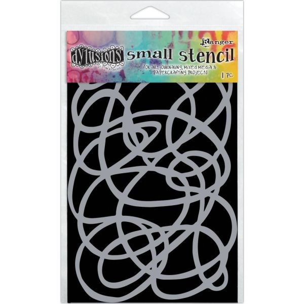 Dylusions Stencils 5x8 Squiggle