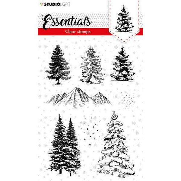 Studio Light Christmas Essentials Clearstamps A6 No. 93