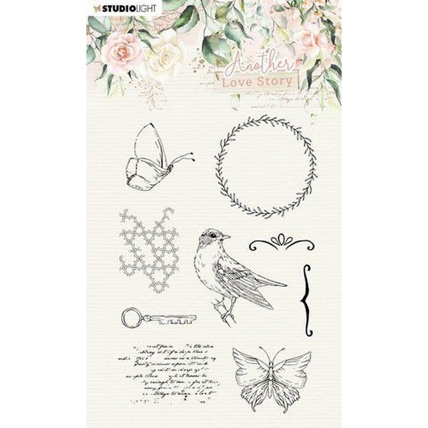 Studio Light Another Love Story Clearstamps A6 No. 03