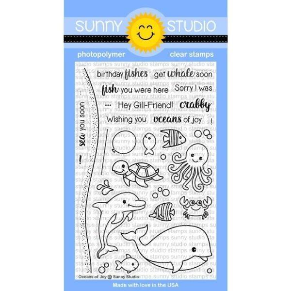 Sunny Studio Stamps Bundle Oceans of Joy