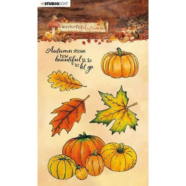 Studio Light Clearstamps A6 Wonderful Autumn No. 478