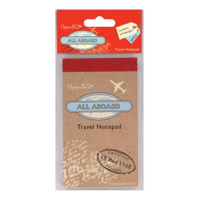 Papermania All Aboard Travel Notepad