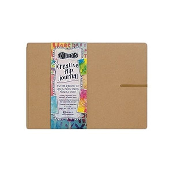 Dylusions Creative Flip-Journal Large