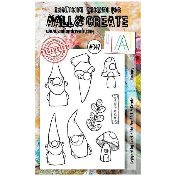 AALL & Create Clearstamps A6 No. 347 Gnomes