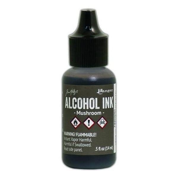 Tim Holtz Alcohol Ink Mushroom