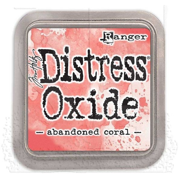 Tim Holtz Distress Oxide Pad Abadoned Coral