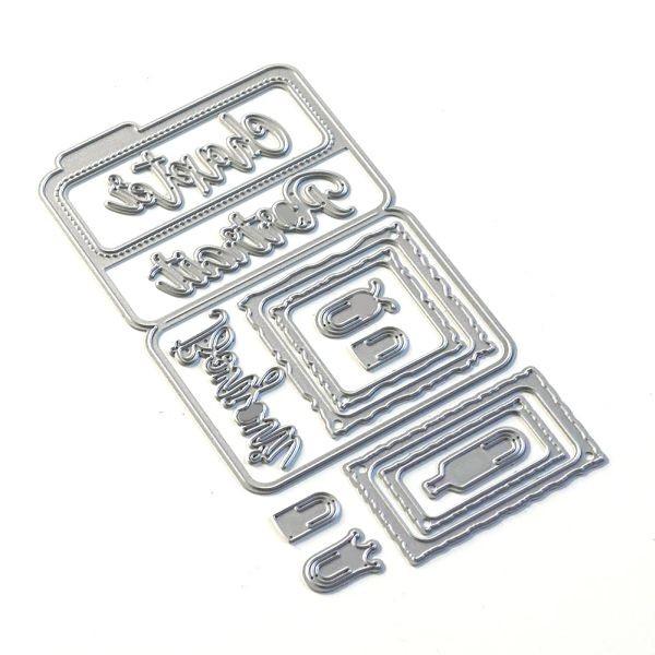 Elisabeth Craft Designs Sidekick Essentials 14 Bonjour Fold Out