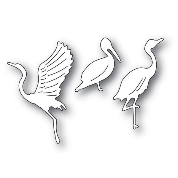 Memory Box Craft Die Graceful Ocean Birds