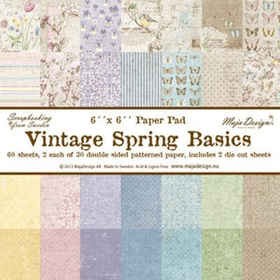 Maja Design Vintage Spring Basics Paperpad