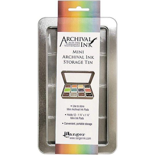 Ranger Mini Archival Ink Storage Tin