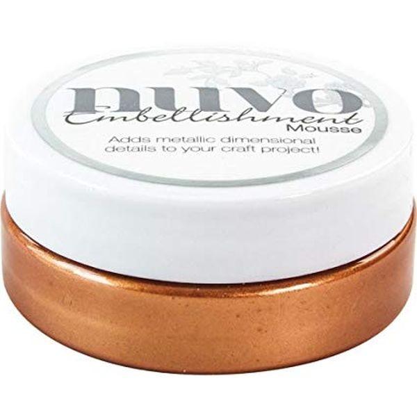 Nuvo Embellishment Mousse Fresh Copper