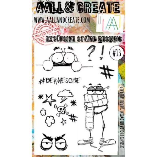 AALL & Create Clearstamps A6 No. 013