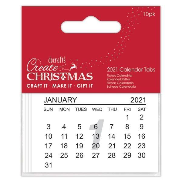 PMA Create Christmas Calendar Tabs 2021