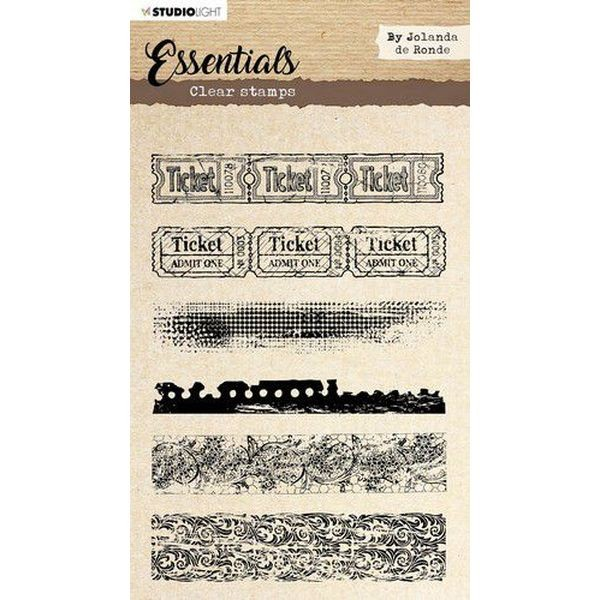 Studio Light Essentials Clearstamps A5 by Jolanda de Ronde No. 02