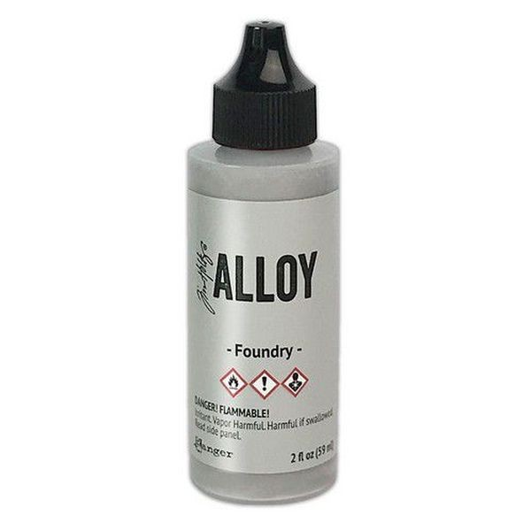 Tim Holtz Alcohol Ink Large Alloys - Foundry