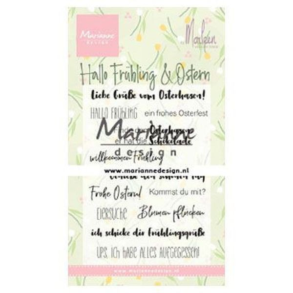 Marianne D Clearstamps Hallo Frühling